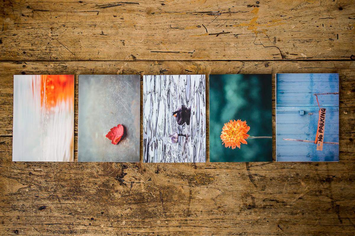 5 Stapel Postkartensets